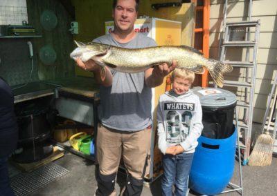 Sieger Vereinsfischen Sept 19 Claudio Ferraretto